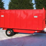 Armstrong & Holmes 6 Tonne Horse Muck Trailer in Red