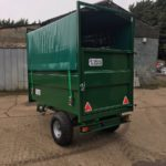 Armstrong & Holmes 2 Tonne Horse Muck Trailer in Green