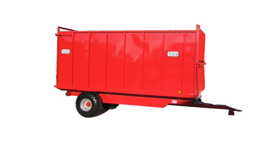 Armstrong & Holmes Horse Muck Trailer