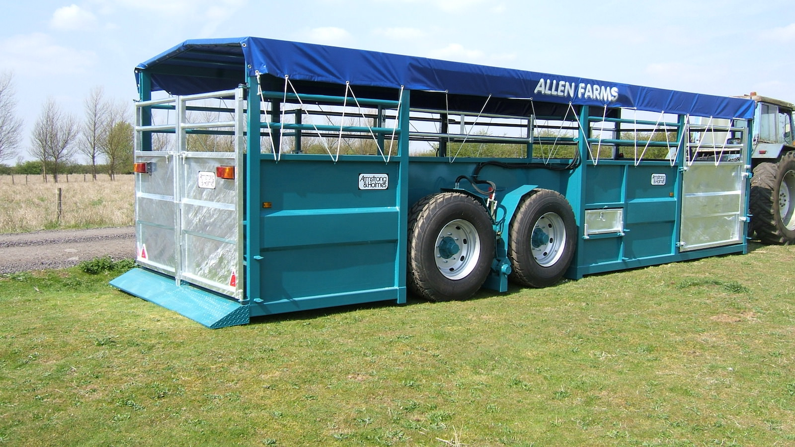 Armstrong & Holmes Farm Trailer Pig Trailer