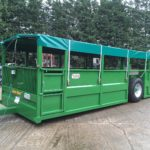 Armstrong & Holmes Farm Trailers Pig Livestock Trailer Green